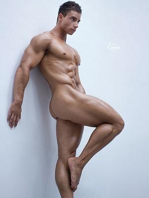 russian male model
