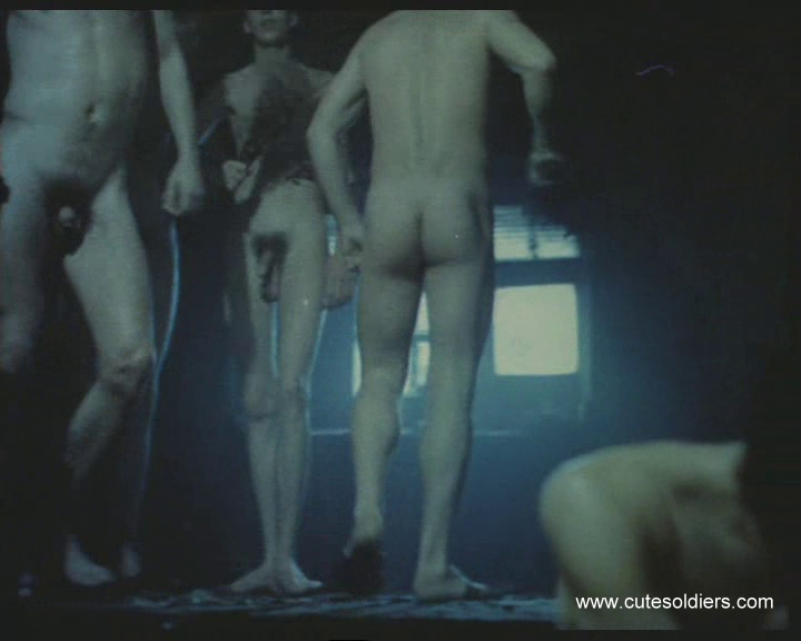 nude men and boys in Russian bathhouse