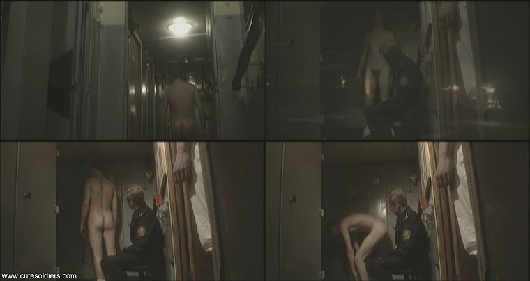 Russian sailor passing nude physicals on the ship