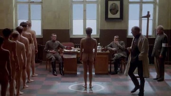 young boys passing physical examinations nude
