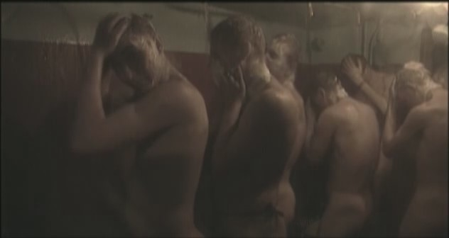 young russian boys sailors take shower nude